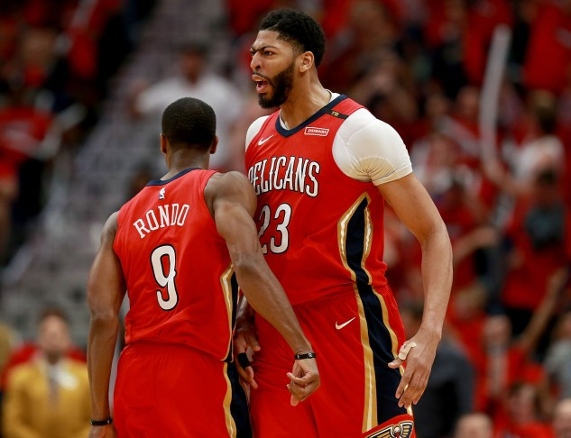 Portland Trail Blazers v New Orleans Pelicans - Game Three