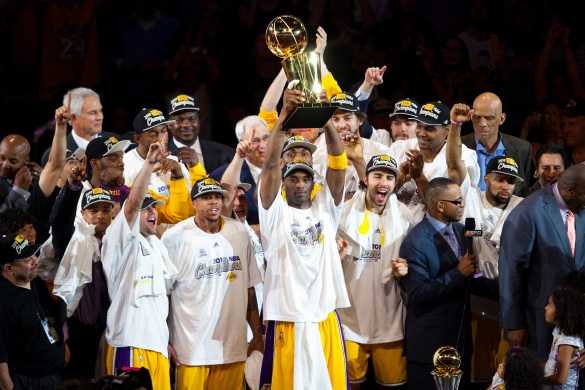 NBA: June 17: NBA Finals: Game 7:  Celtics at Lakers
