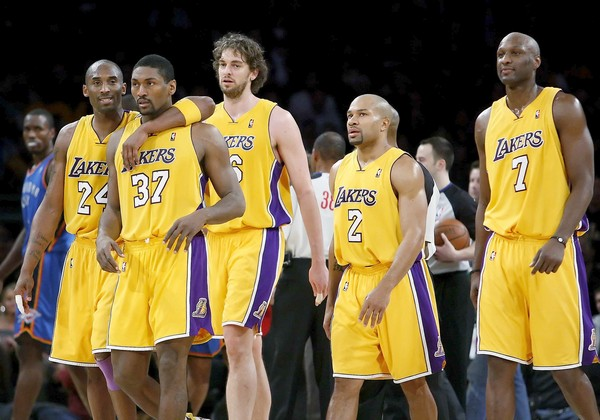Looking Back At The 2010 Lakers Championship Roster Lakers Uk